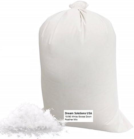 Bulk Goose Down Filling 3/4 lb – 10/90 100% Natural White D