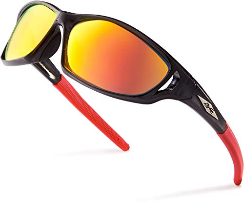 X-Loop  esmerilado claro Marco colorido del hombres wrap around béisbol ciclismo running deportes gafas de sol