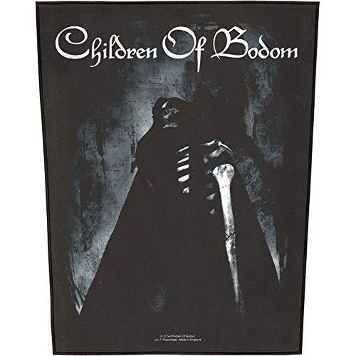 Children Of Bodom Men's Fear The Reaper Back Patch Black