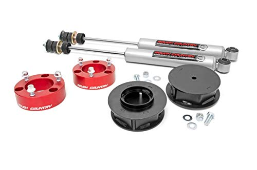 Rough Country 3' Lift Kit for (07-14 FJ/ 03-09 4-Runner 4WD/2WD) - 76530RED