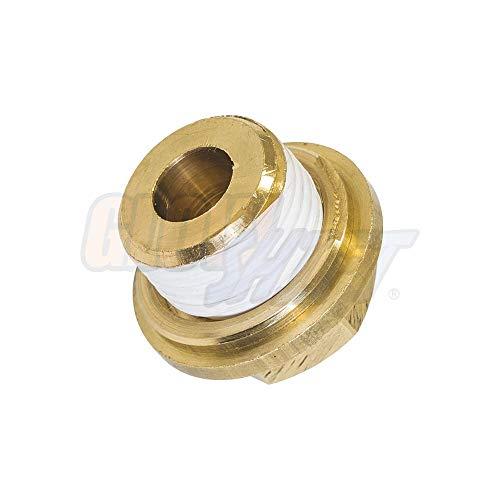 Drain Plug GlowShift Transmission Pan /& Oil Pan Temperature Sensor Thread Adapter Kit