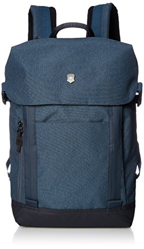 Victorinox Altmont Classic Deluxe Flapover Laptop Backpack, Blue, 16.9-inch