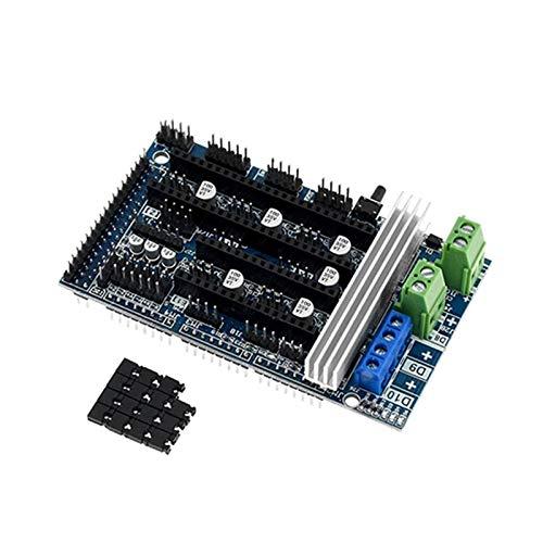 XIAOFANG Impresora 3D Piezas Clone RE-Arm CONTOLETE Mega Mega 2560 A TMC228 TMC2130 DRV8825 A4988 RAMPS 1.6/1.4/1.5 (Color : Ramps 1.6)