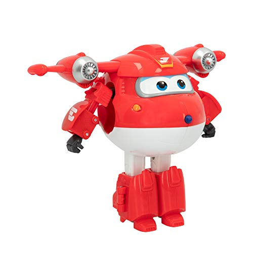 Super Wings- Juguete Jett transformable (Colorbaby 75872)