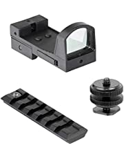 ANS Optical 超軽量 わずか35g オープンドットサイトP1x25 カメラマウントセット ドットファインダー ホットシュー対応 dt-032-P01
