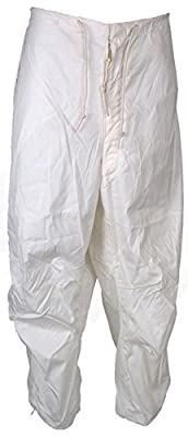 Military Outdoor Clothing Never Issued US G.I. White Snow Trousers (X-Large/Regular)
