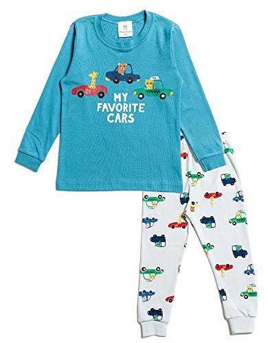 Nuribom Pijama para niños y niñas – Pijamas para niños – Algodón Jammies para niños de 12 meses a 8 años