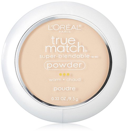 Price comparison product image L'Oreal True Match Powder,  Porcelain [W1],  0.33 oz (Pack of 4)