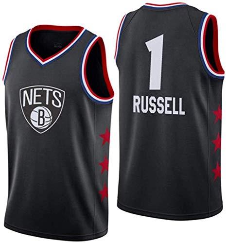 ZSPSHOP NBA - Chaleco de baloncesto sin mangas para hombre, diseño de Miami Heat No.3 Wade, bordado a la moda, unisex, color negro, talla 180 cm
