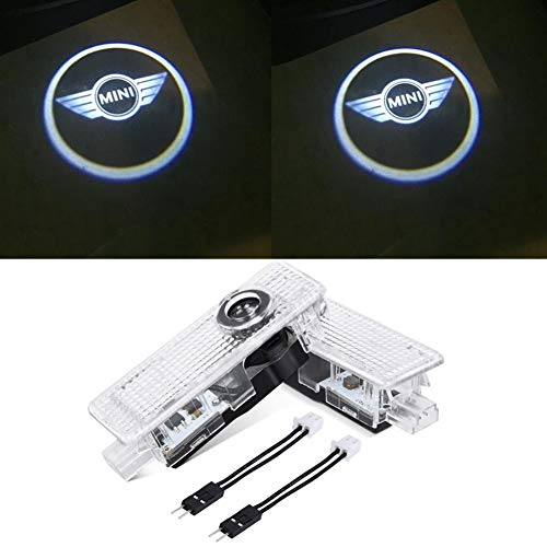 Car Door LED Logo Projector Accessories Welcome Lights For Mini Cooper (2-Pack)
