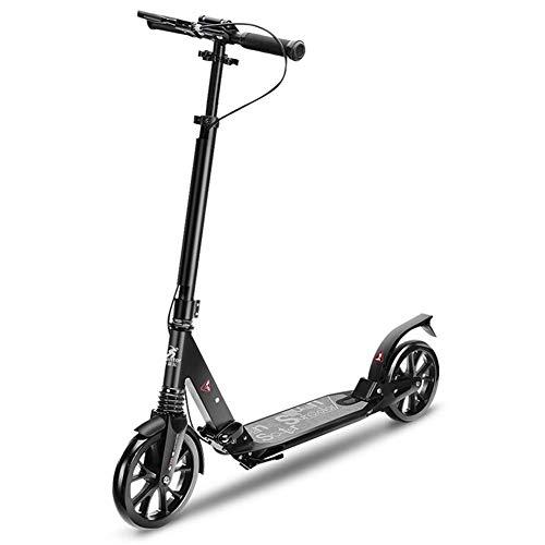 Scooter de Rueda Grande para Adultos Patinete de patín Plegable Ligero y...