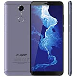 Cubot NOVA 4G-LTE Dual SIM Smartphone ohne Vertrag 5.5 Zoll (18:9) IPS HD Touch Display Android 8,1 3GB RAM+16GB ROM 13MP+8MP Kamera 0.1s Fingerprint Sensor Handy Blau