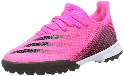 adidas X GHOSTED.3 TF J, Zapatillas de fútbol, ROSSHO/NEGBÁS/NARCHI, 30 EU