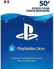Carte PSN 50 EUR | Compte français | Code de téléchargement (PS5/PS4/PS3)