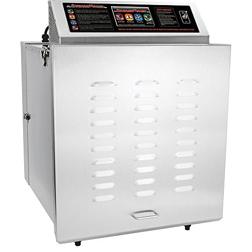 Fantastic Deal! TSM D-14 Digital Touch Screen Food Dehydrator with Stainless Steel Shelves