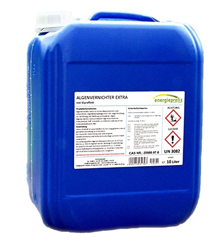 energieprofis 10 L Algenvernichter schaumfrei Algenex Algizid Pool