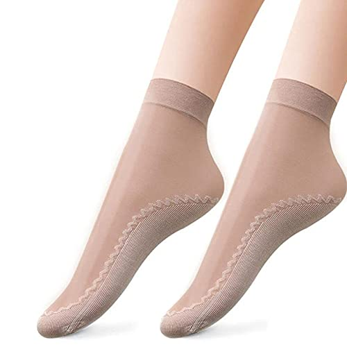 Syina 10 pares de calcetines profesionales antideslizantes para yoga, ultraligeros, estampados, calcetines de yoga, ballet, danza, pilates, mujeres