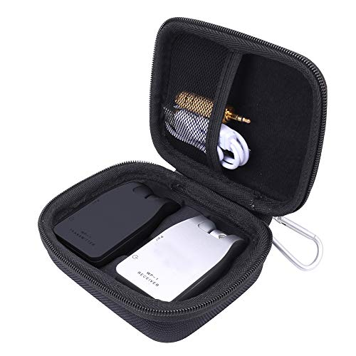 Aenllosi Hard Carrying Case for Getaria 2.4GHZ Wireless Guitar System