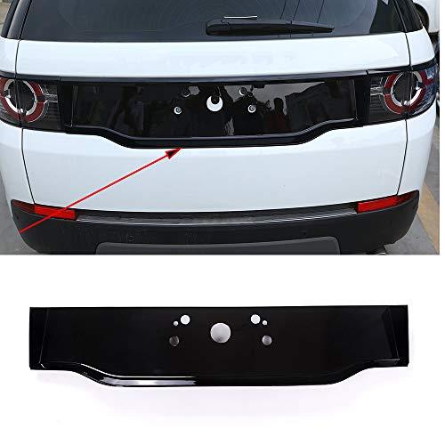 ABS cromo brillante negro coche trasero decoración cubierta marco para el descubrimiento deporte 2015-2017 accesorios de coche
