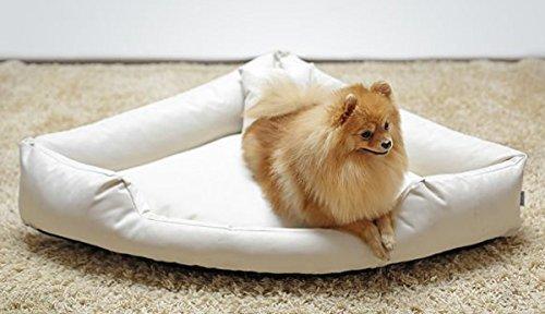 tierlando Orthopädisches Hundebett Trivia Visco Eckbett Eckhundebett Festes Polyester....