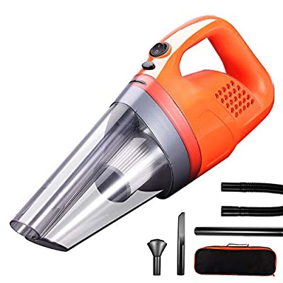 Car Vacuum Cleaner, High Power Corded Vacuum 150W/7000Pa, Wet/Dry Car Interior Cleaner, Cleaning for Dust Pet Hair Dirt Debris, GSSUSA Car Cleaning Product 2020 New
