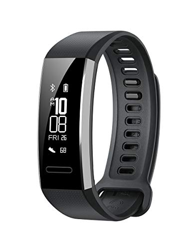 HUAWEI Band 2 Pro Smartwatch, Display 0.91 , Resistente all Acqua fino a 5 ATM, Nero