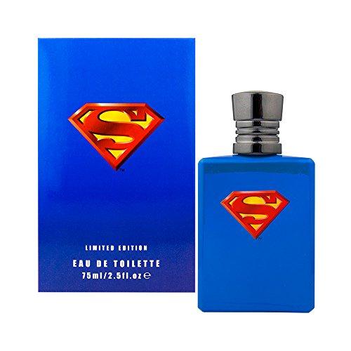 Superman unisex, Eau de Toilette, Vaporisateur/Spray 75 ml, 1er Pack (1 x 75 ml)