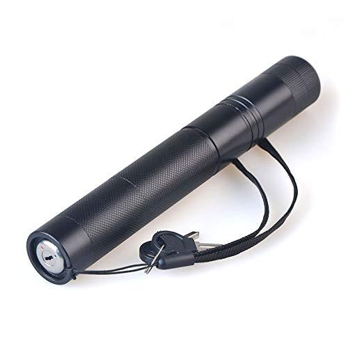 HTHJA Linterna LED con Impermeable,Linterna LED de Alta Potencia con Bloqueo de SeguridadRojo,Mini portátil