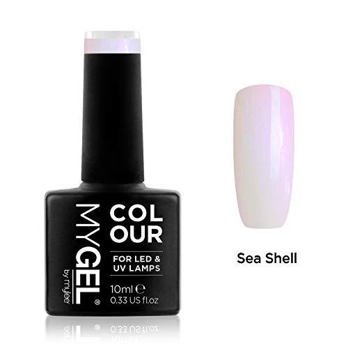 MyGel Nagellack von MYLEE (10ml) MG0050 - Sea Shell UV/LED Nail Art Maniküre Pediküre für den professionellen Einsatz im Wohnzimmer und zu Hause - Langlebig und einfach anzuwenden