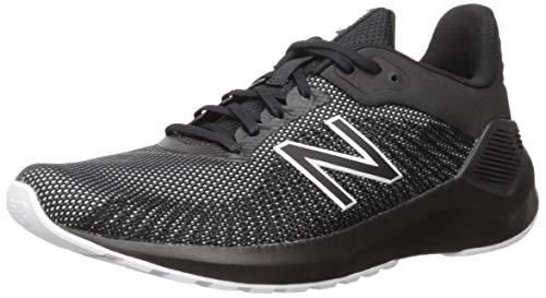 New Balance Men's VENTR V1 Running Shoe, Black/White, 13 4E US