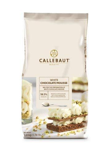 Callebaut Mousse De Chocolate Blanco 800 g