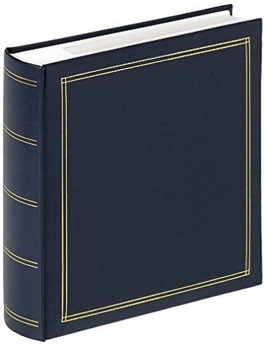 Walther Design ME-139-L Album Ad Inserimento per Bambini per 200 Foto, PVC, Blu, 13 x 18 cm