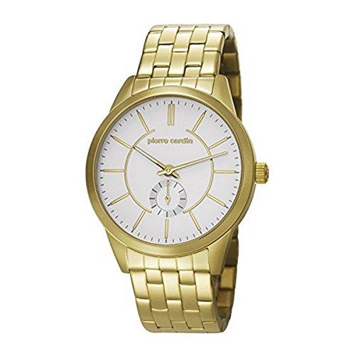 Pierre Cardin PC106571F11–Armbanduhr Herren, Armband aus Edelstahl Farbe Gold