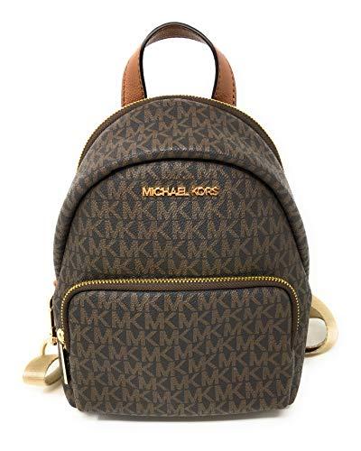 Michael Kors Women's Erin SMALL Backpack (BROWN)