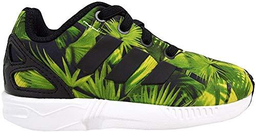 adidas ZX Flux El I - S74970 - Colore: Verde-Bianco-Nero - Taglia: 23.5