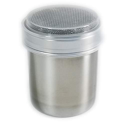 1 Pack Shaker Sifter Dispenser Duster 18/8 Stainless Steel For Cinnamon Flour Powdered Sugar baking soda ect. (Model-1)