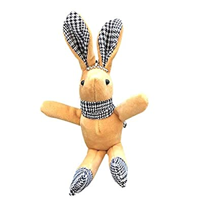 Tamquer Cute Plush Toy Cute Rabbit Soft Rabbit Plush Stuffed Animal Dressing Rabbit Doll Soft Toys for All Ages Easter Gifts for Kids for Birthday Party for Baby Companion from Tamquer