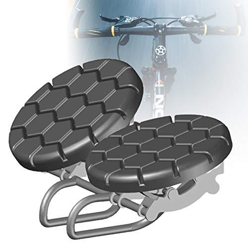 ZPCSAWA Sillín de Bicicleta MTB Gel Sillín, Ergonómico Extra Grande Sillines para Bicicleta de Montaña Asiento con Impacto Fijo Diseño para el Hombre Mujer Culo Grande