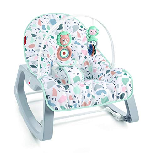 Fisher-Price Infant-to-Toddler Rocker - Pacific Pebble, portable baby seat and rocking chair