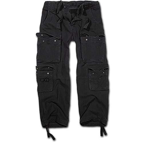 Spaß kostet Armee Hose lang in schwarz Cargo mit vielen Taschen Größe S bis 5XL