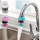 Gamloious Magnetic Purified Water Tap Extender Bathroom Kitchen Faucet Head Filter Maifanite Water Saver...