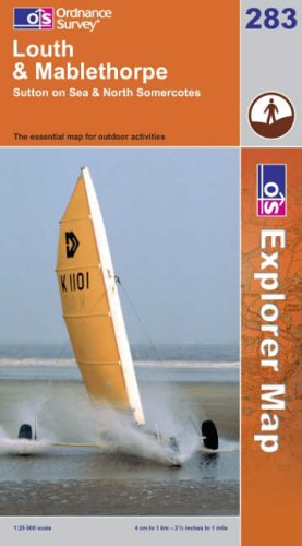OS Explorer map 283 : Louth & Mablethorpe