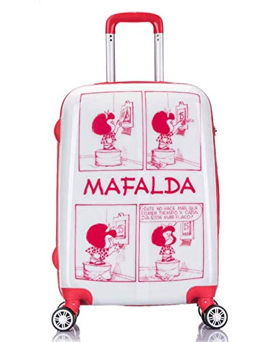 Maleta Cabina 55Cm Mafalda Comic