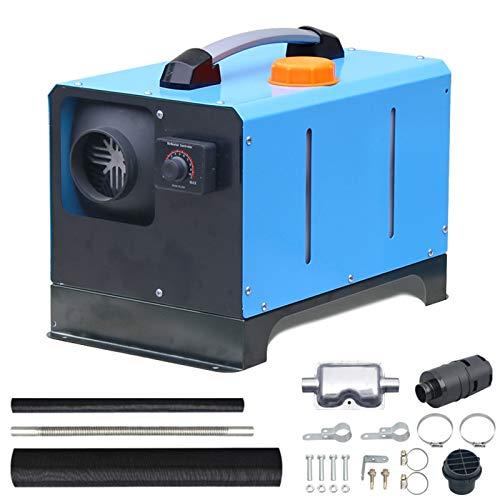 QIAO 5KW 12V 24V Air Diesel Heater, Calefacción Estacionaria Diesel Portátil, para Camión, Barco, Autocaravanas, Caravanas Y Más,5kw,24V