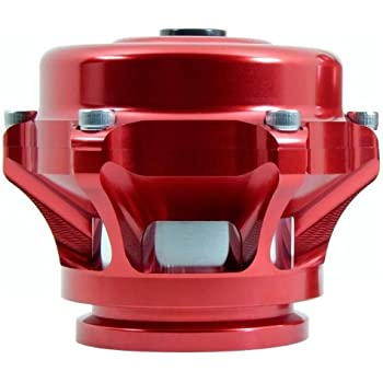 TiAL Q Blow Off Valve - 10 psi (unpainted) spring, Red Body, AL Flange