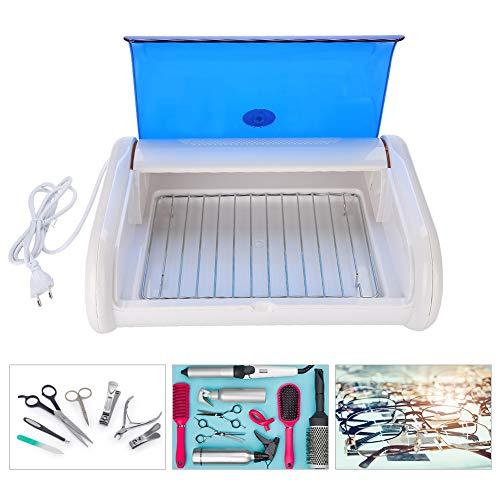 Nail art tools sterilisator, professionele uv handdoek schaar pincet desinfectie kast doos schoonheidssalon spa desinfectie sterilisatie machine (eu)