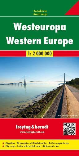F&B West-Europa: Wegenkaart 1:2 000 000