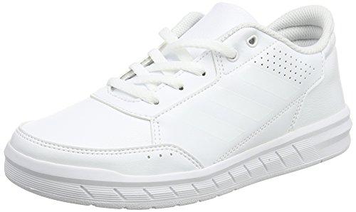 adidas AltaSport K, Chaussures de Fitness Mixte Enfant, Blanc (Ftwbla/Ftwbla/Gritra 000), 31 EU