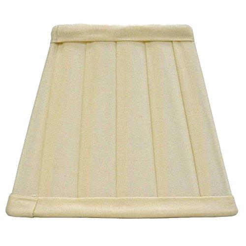 Better & Best lampenkap van katoen, vierkant, 15 cm, smalle deken, natuurlijke kleuren