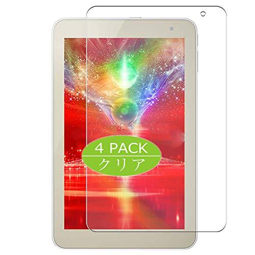 VacFun 4 Piezas HD Claro Protector de Pantalla Compatible con dynabook Tab S68 S68/NG S38 S38/23M/26M 8 Serie Toshiba 8', Screen Protector Película Protectora (Not Cristal Templado) New Version